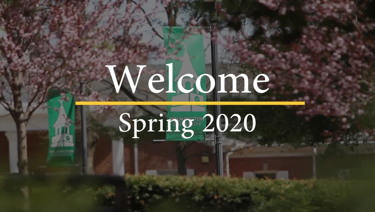 Welcome to the Spring 2020 Semester!