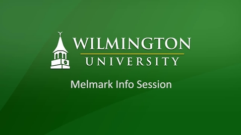 Thumbnail for entry Info Session for Melmark Employees