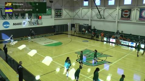 Thumbnail for entry Women's Basketball vs. Felician