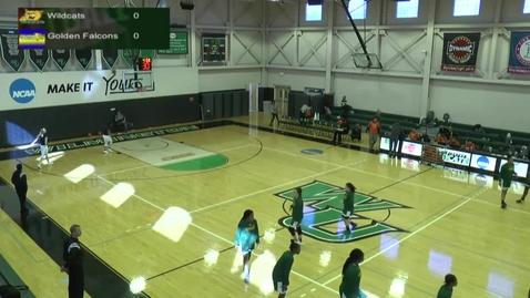 Thumbnail for entry Women's Basketball vs. Felician