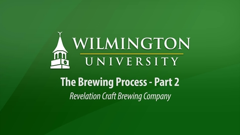 Thumbnail for entry CUL 303 - The Brewing Process - Part 2