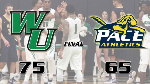 Thumbnail for entry Men's Basketball vs. Pace