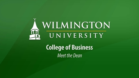 Meet the Dean of the College of Business
