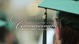 Thumbnail for entry Spring 2016 Commencement Highlights: Wilmington