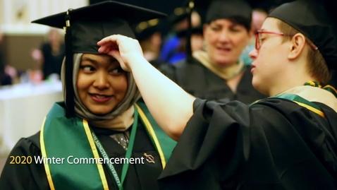 Thumbnail for entry Winter 2020 Grad Highlights