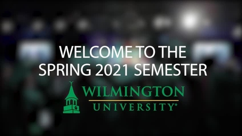 Thumbnail for entry Welcome to the Spring 2021 Semester!