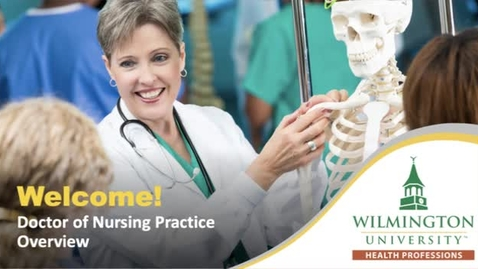 Thumbnail for entry Introduction to WilmU's DNP Program