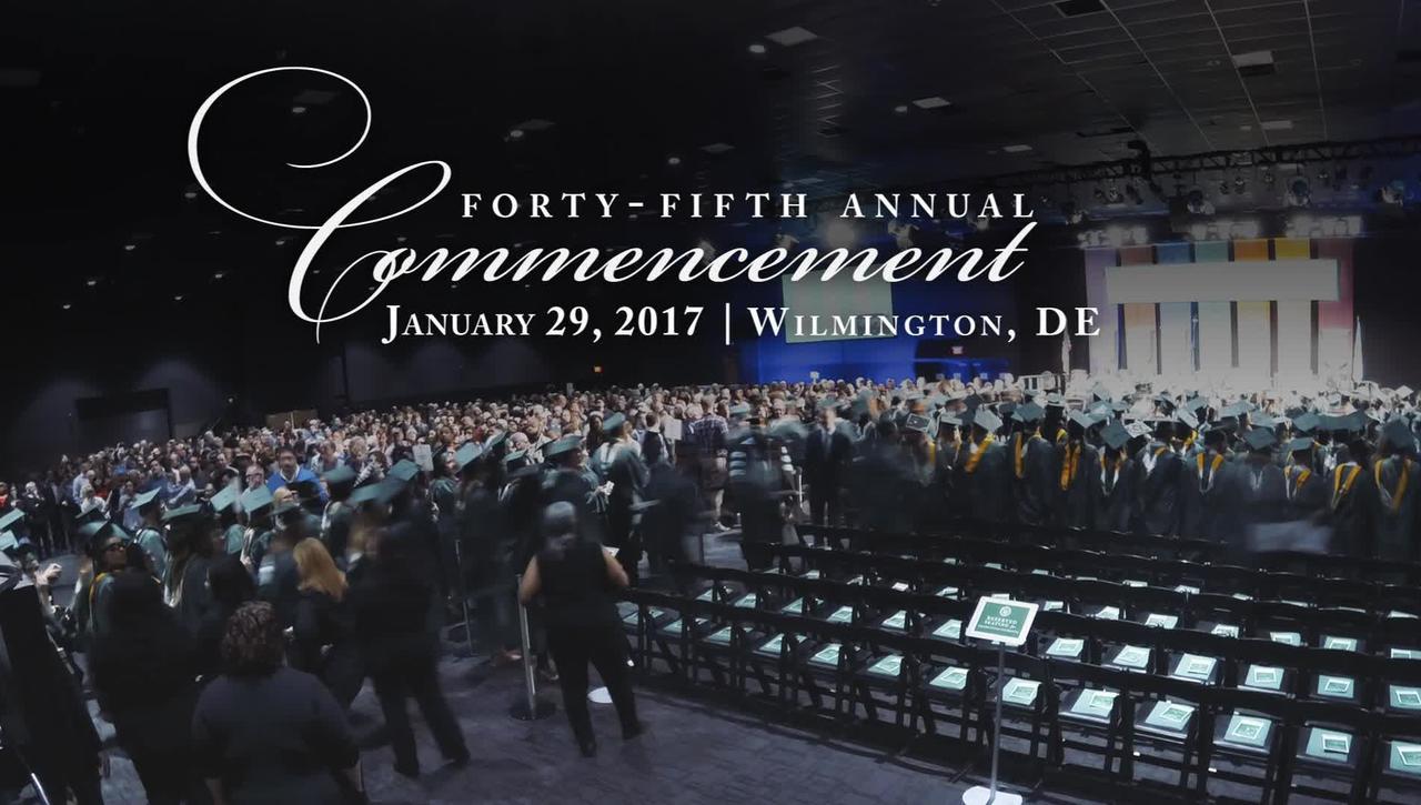 January 2017 grad highlights