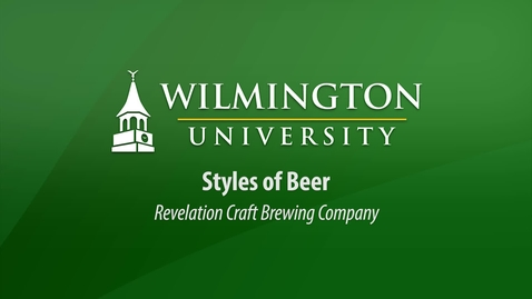 Thumbnail for entry CUL 303:  Styles of Beer