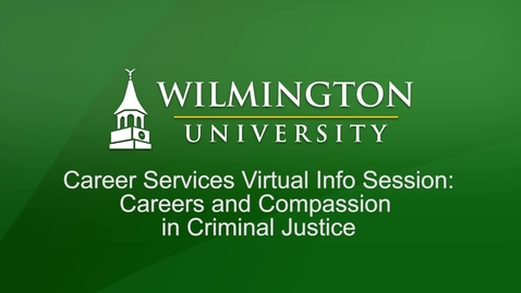 Thumbnail for entry Career Services Virtual Info Session