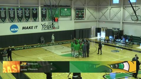 Thumbnail for entry Men's Basketball vs. Concordia
