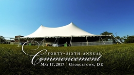 Thumbnail for entry Spring 2017 Commencement Highlights: Georgetown