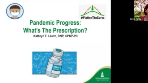 Thumbnail for entry Pandemic Progress – Your College Webinars: Health Professions