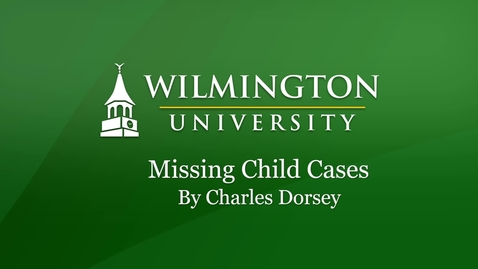 Thumbnail for entry True Crime: Missing Child Cases
