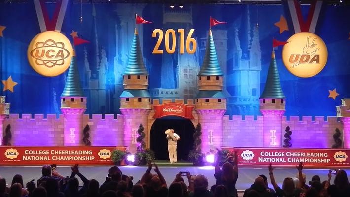 WilmU Cheerleading Championship 2016