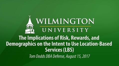 Thumbnail for entry Dodds DBA Defense
