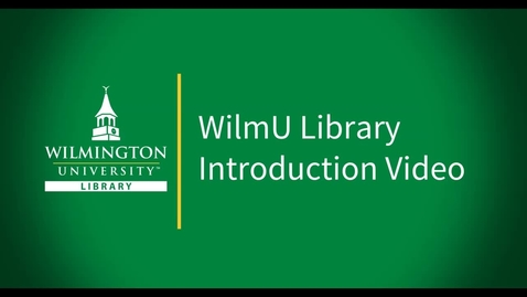 Thumbnail for entry Library Introduction Video