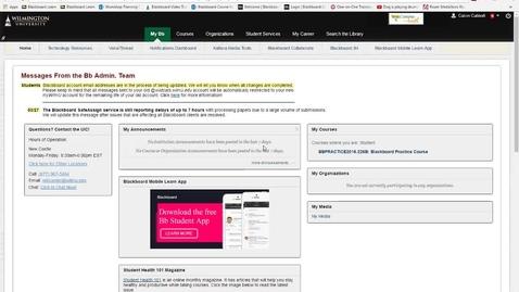 Thumbnail for entry Portfolium Account Creation