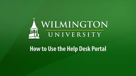 How to Use the Help Desk Portal