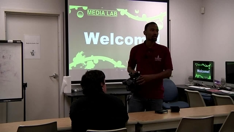 Thumbnail for entry Panasonic HMC-150 Overview - Media Lab Workshop #3