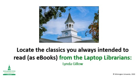 Thumbnail for entry Locating eBook Classics