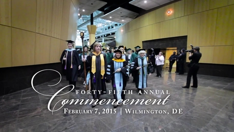 Thumbnail for entry Winter 2016 Commencement Highlights