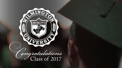 Thumbnail for entry Spring 2017 Commencement: Wilmington highlights