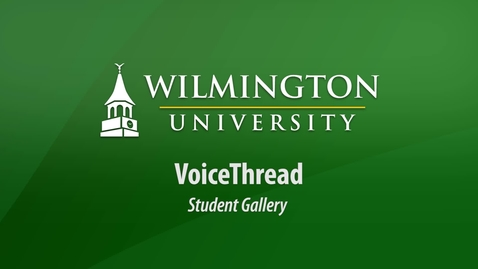 Thumbnail for entry VoiceThread Student Gallery