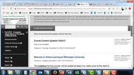 Thumbnail for entry Hide or Display Course Menu Items or Content Items to students and viewing the course in student preview mode