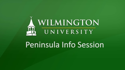 Thumbnail for entry Info Session for Peninsula Employees