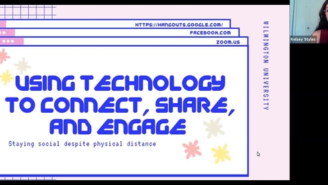 Thumbnail for entry Using Technology to Connect, Share, and Engage