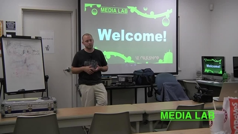 Thumbnail for entry Field Audio Recording - Media Lab Workshop #2