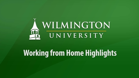 Thumbnail for entry Work from Home Highlights