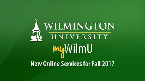 Thumbnail for entry New Online Services for Fall 2017