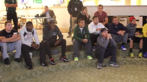 Thumbnail for entry WU Men's Soccer Selection Show Reaction