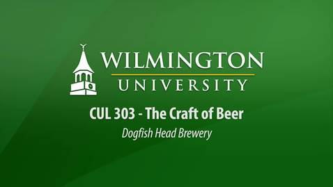 CUL 303:  The Craft of Beer