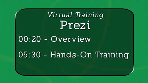Thumbnail for entry Virtual Training-Prezi
