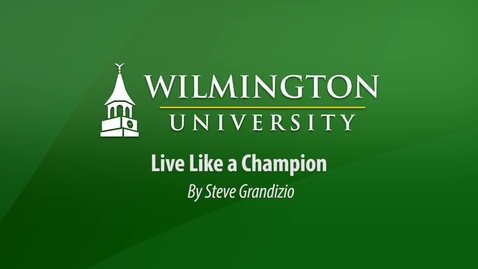 Thumbnail for entry Live Like A Champion