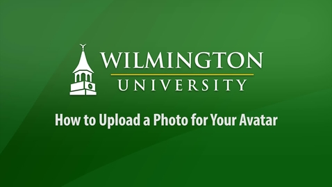 How to Upload a Photo for Your Avatar