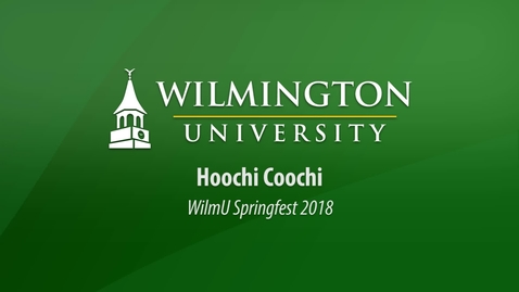 Thumbnail for entry Hoochi Coochi at WilmU Springfest 2018