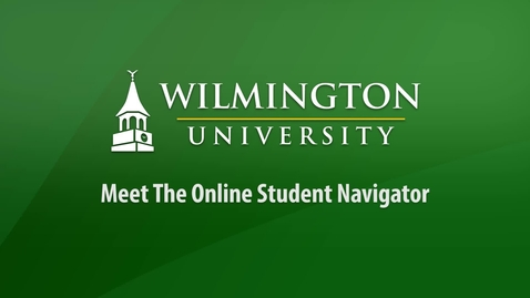 Online Student Navigator Introduction