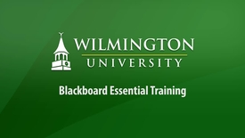 Thumbnail for entry Blackboard Essential Training