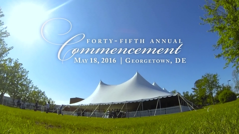 Georgetown Commencement 2016 Highlights