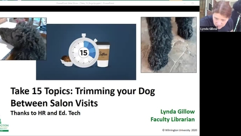 Thumbnail for entry Take 15: Trimming your Dog Between Salon Visits