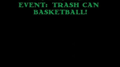 Thumbnail for entry Trash Can Basketball Results