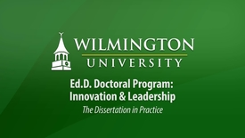 Thumbnail for entry Ed.D. Orientation 2017: Dissertation in Practice