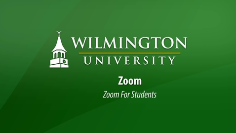 Thumbnail for entry Zoom For Students