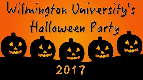 Thumbnail for entry Wilmu HR Halloween Party 2017