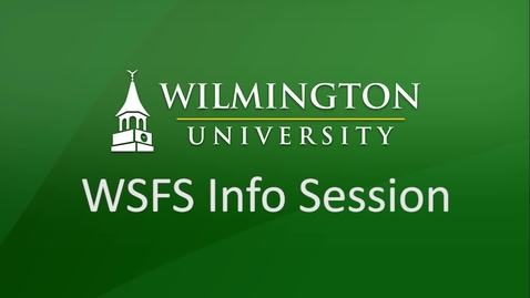 Thumbnail for entry WSFS Partnerships with Wilmington University