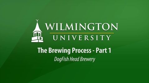 Thumbnail for entry CUL 303 - The Brewing Process:  Part 1